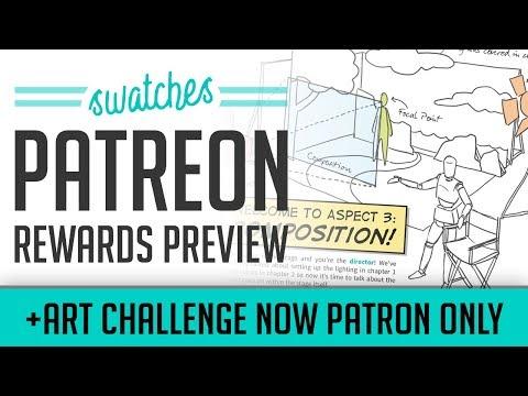 Patreon Reward Preview + Art Challenge Change Mp3