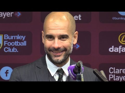 Burnley 1-2 Manchester City - Pep Guardiola Full Post Match Press Conference