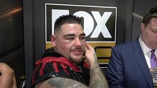 Andy Ruiz Right After TKO Ready To Fight Joshua & Wilder EsNews Boxing