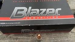 9x19mm, 115gr FMJ, Blazer Aluminum (#3509) Velocity Test