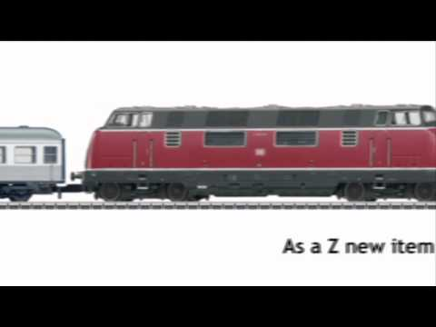 Z Scale | V200 with & SILVER COINS & cars | MÄRKLIN NEWS 2010