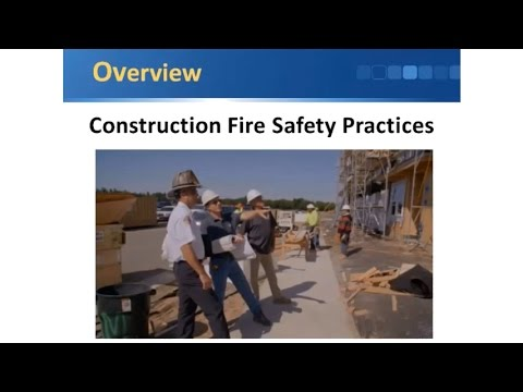 BCD230 - Construction Fire Safety Practices
