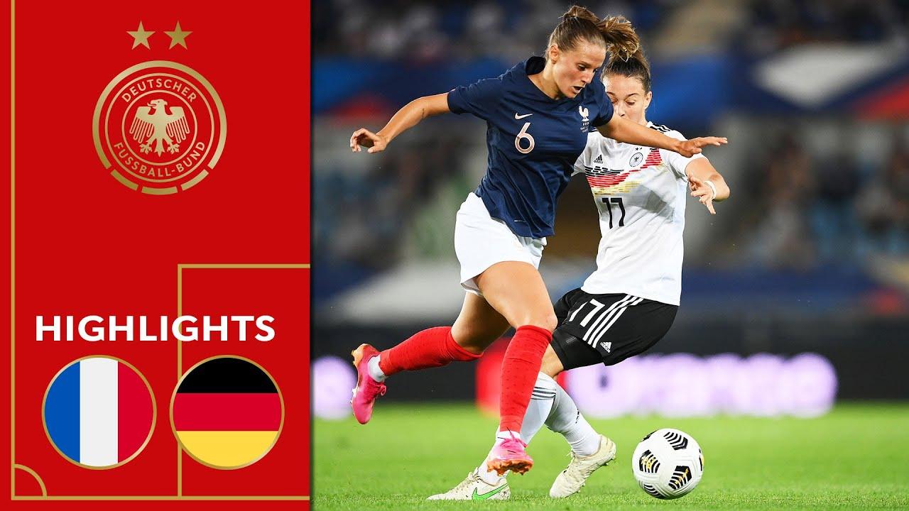 DFB-Frauen verlieren nach Traumtor | Frankreich - Deutschland 1:0 | Highlights | Frauen Testspiel