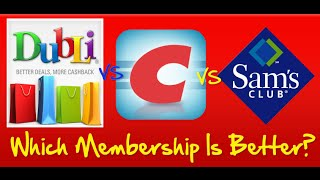 What Is Dubli Cashback Dubli vs Costco vs Sams Club Memberships