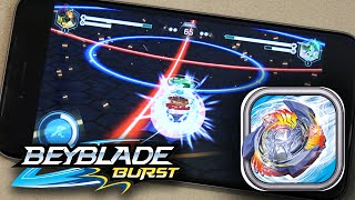 Beyblade Burst Game GAMEPLAY & REVIEW! - Beyblade Hasbro App for iOS & Android