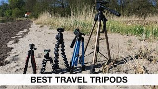 Best travel tripod for dslr! A comparison of tripod and gorillapod for travel film making.