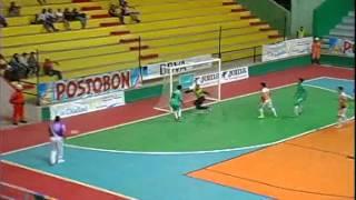 Barrancabermeja C.F. 10 Esmeraldas 0 Copa Postobon de Microfútbol