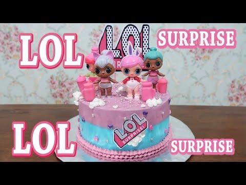Cara Membuat Kue Ulang Tahun Lol Surprise Cake Tart