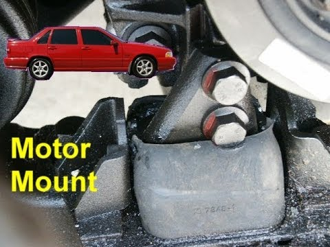 Front motor mount, lower right side Volvo 850, S70, V70 - VOTD - YouTube