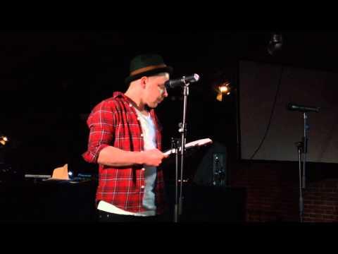 """Thomi: Poetry Slam im Sedgwick, Aschaffenburg (23.01.2015) """"Jeder von uns ist Kunst"""""""