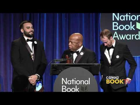 2016 National Book Award Winner: Rep. John Lewis (Young People's Literature)