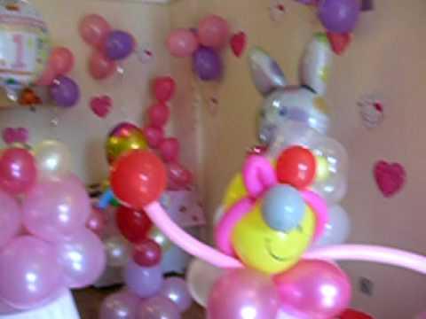 Sorprende con decoraci n de globos en fiestas zorionak - Globos para fiestas ...