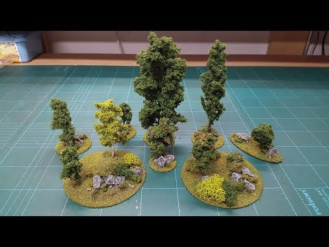 Let's Make - Cheap & Easy Scenic CD Scatter Terrain Bases