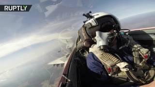 Воздушный бой из кабины истребителя МиГ-29