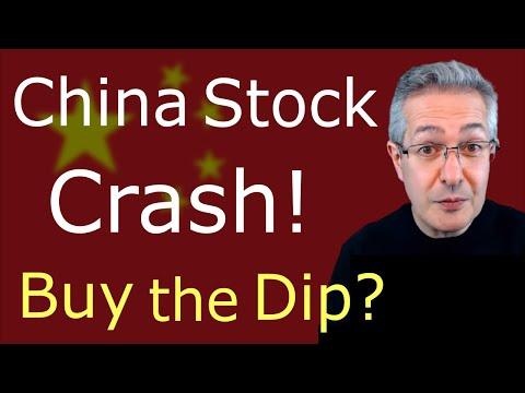 China Stock Market Crash - Buy The Dip?