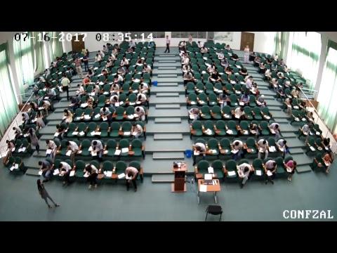 Conference Hall - MDIS Tashkent Entrance Examination (16.07.2017 Morning)