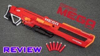 [REVIEW] Nerf Accustrike MEGA Thunderhawk | Collapsible Barrel!