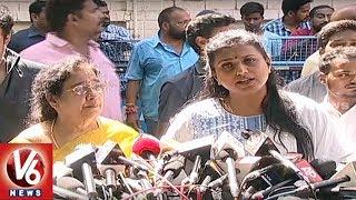 YCP MLA Roja Express Condolence On Dasari Narayana Rao Death | V6 News