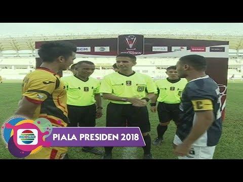 Piala Presiden 2018 : MITRA KUKAR (1) VS BARITO PUTERA (0) - Highlight Peluang dan Goal
