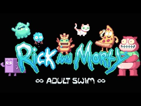Rick And Morty 8-Bit Intro | Adult Swim