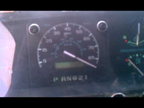 2008 E350 Wiring Diagram Ford E350 Speedometer Problems Youtube