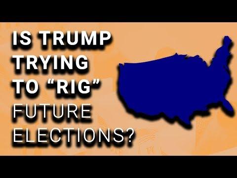 Trump & Republicans Plan to Rig 2020 Election