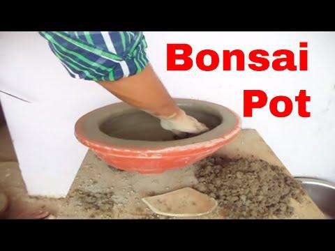 How to make cement Bonsai pots | Modern Bonsai Pot | Make Your Own Bonsai Pots