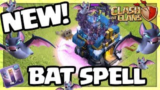 NEW - BAT SPELL! Clash of Clans UPDATE Sneak Peek #2 | CoC |