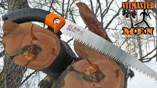 Тест японской пилы Z-saw с крупным зубом для обрезки плодовых деревьев(Профессиональные ОГНИВА, НОЖИ, ПИЛЫ: http://ognivopro.ru = = = = = = = = = = = = = = = = = = = = = = = = = = Японская пила от Z-saw с крупным..., 2015-03-13T16:09:57.000Z)