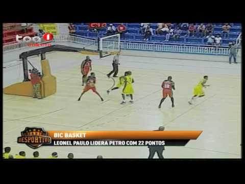 "Petro de Luanda 93 - 90 1º de Agosto ""BIC BASKET"""