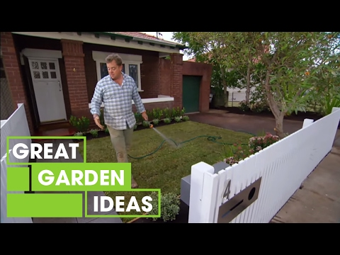 Jason's contemporary front yard makeover