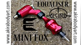 Rotary Tattoo Machine FOX-MINI by Equaliser in Akira Body Art