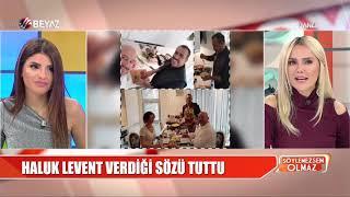 Haluk Levent verdiği sözü tuttu! Video