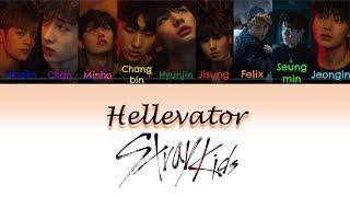 Video Stray Kids - Hellevator Lyrics Color Coded (Han Rom Eng) download MP3, 3GP, MP4, WEBM, AVI, FLV Maret 2018