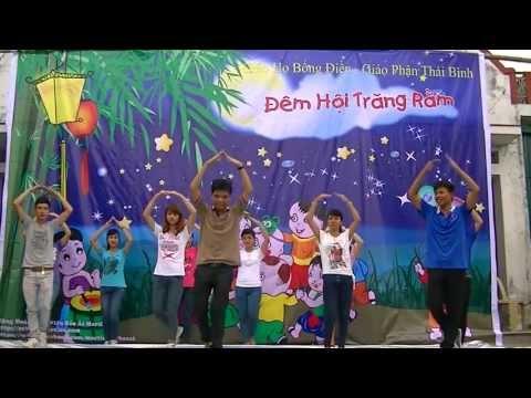 Cử điệu: Ba ngọn nến lung linh - Cộng đoàn sinh viên Bác Ái Martino - Trung thu Bổng Điền 2013