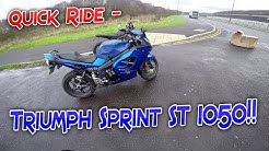 #189 Quick Ride - Triumph Sprint ST 1050!!