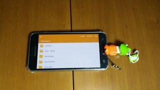 Cable OTG Samsung Galaxy J3 .Conectar pendrive, ratón/mouse, teclado/keyboard.Español