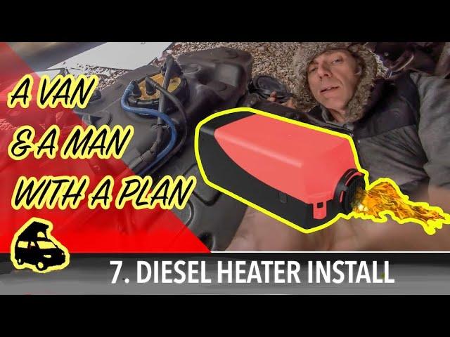 Fitting a diesel heater & connecting to campervan diesel tank
