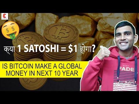 क्या 1 Satoshi = $1 होगा?, BITCOIN Is More Rare Than GOLD \u0026 Less Inflated - CRYPTOVEL