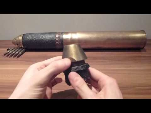 ww1 French schneider artillery shell fuse