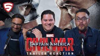 Marvel's Captain America: Civil War - Trailer 1 Reaction!