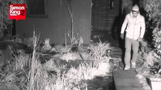 Burglar on Fox Family Cam - with Added Captions