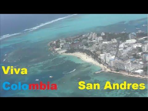 VIVA COLOMBIA A320 SALIENDO DE SAN ANDRES COLOMBIA