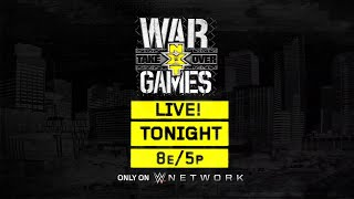 Don't miss NXT TakeOver: WarGames tonight on WWE Network