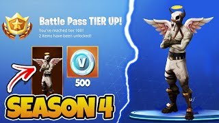 'NEW' Fortnite Saison 4 INFORMATION! - Fortnite Saison 4 NOUVEAU SKINS - ITEMS! (Fortnite Saison 4)