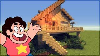 Minecraft: Construindo a Casa de Praia do Steven Universe