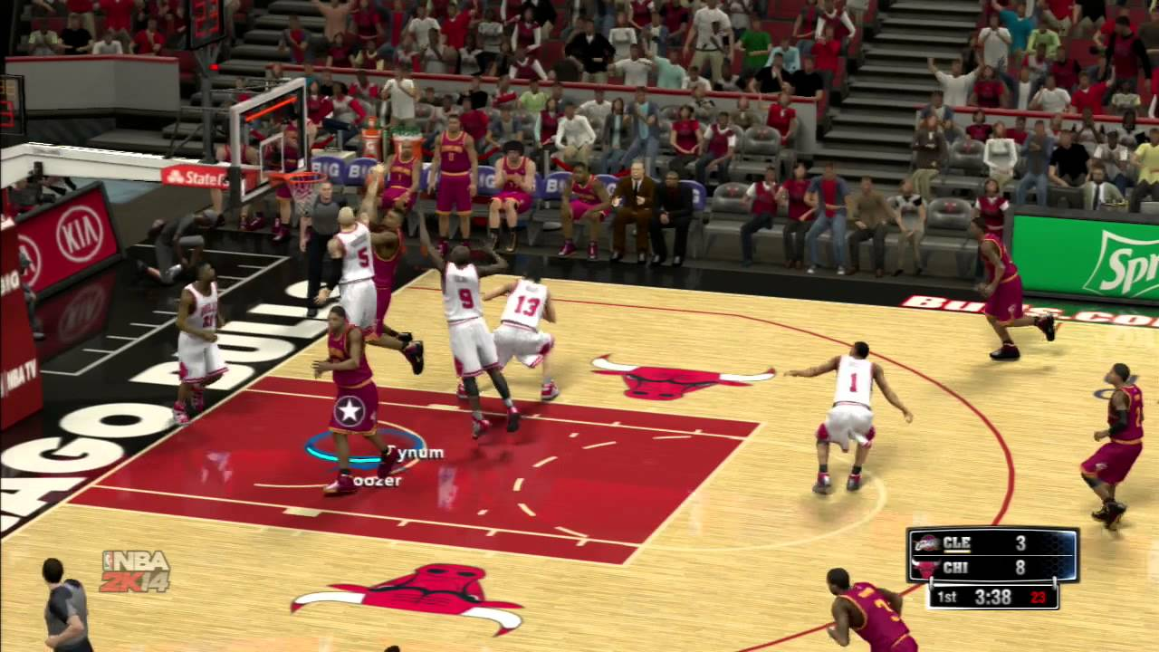 nba 2k14 chicago bulls vs cleveland cavaliers gameplay