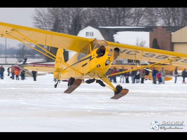 Skiplanes at Pioneer Airport - EAA Skiplane Fly-In 2015 (Part 3 of 3)