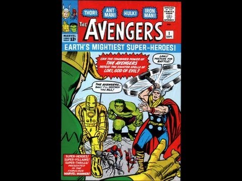 The Avengers # 1 year 1963 *Video Comic*