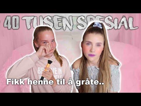 LILLESØSTER SMINKER MEG!  + stor 40k giveaway!